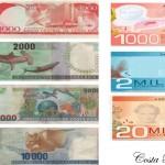 Some Costa Rica bills