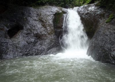 costa rica explore waterfall tour
