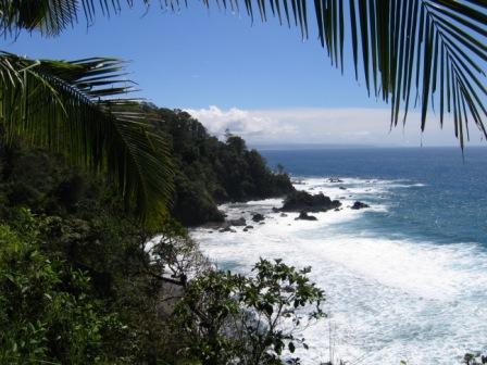 View from Isla del Cano Costa Rica
