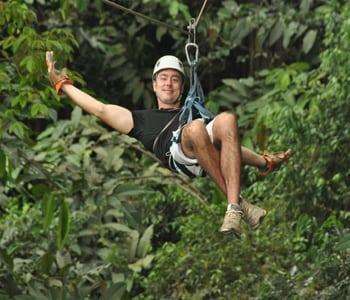 canopy tour vista los suenos Jaco