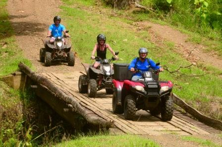4 wheel dirty atv tours