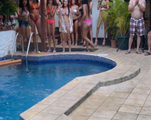 pool party jaco beach